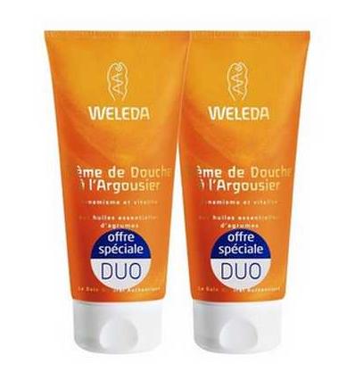 Duo de Crème de Douche à l'Argousier