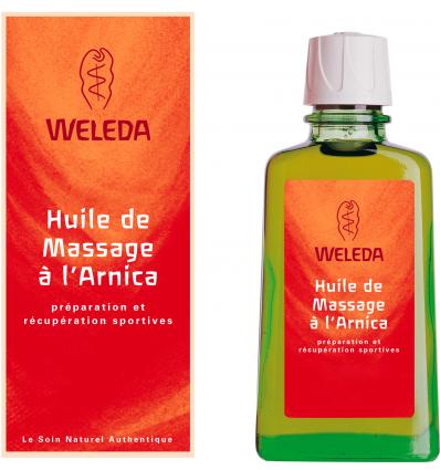 Huile de Massage à l'Arnica - Grand format - Weleda - Odessence - Beauté naturelle & bio à Bordeaux
