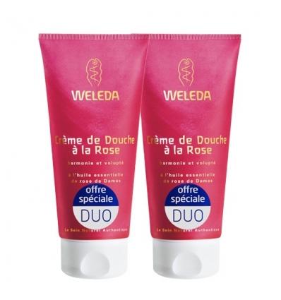 Duo de Crème de Douche Rose Musquée
